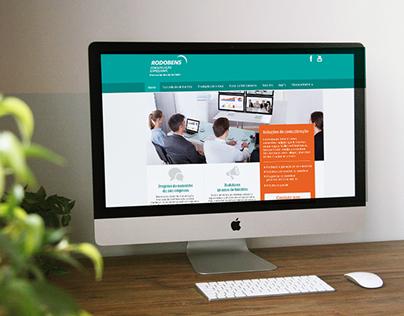 Rodobens Comunicação Empresarial Website