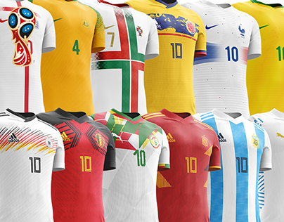 FIFA World Cup 2018 Kits Redesigned