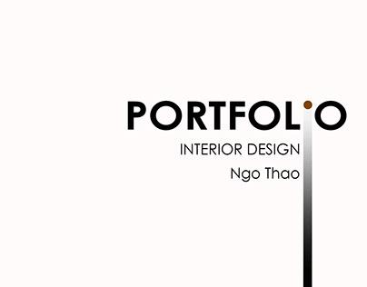 Portfolio | Undergraduate Interior Design