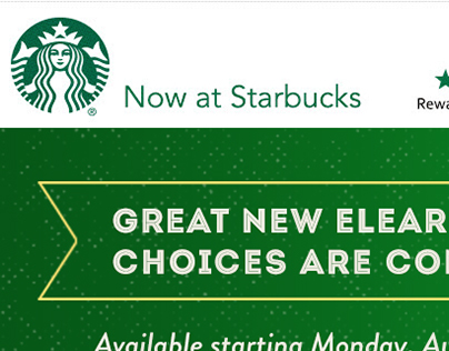 Internal Starbucks Email Campaign