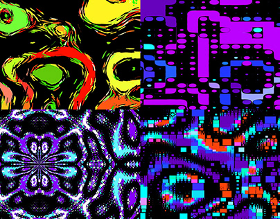 Color Pixel - VJ Loop Pack (4in1)