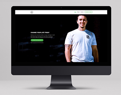 MVFPERSONALTRAINING - web design for a personal tra