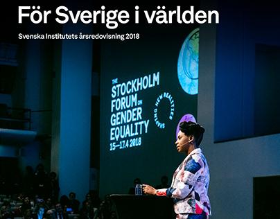 Cover retouch | Svenska Institutet