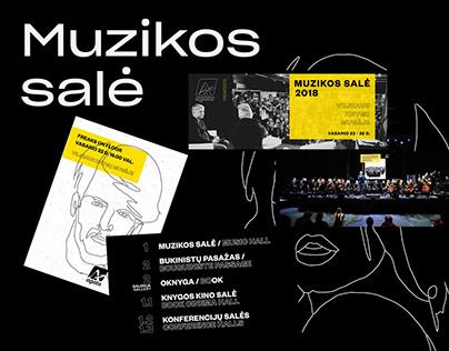 Festival design - Muzikos sale '18