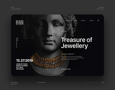 Indian Concept Jewellery / Brand Identity