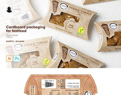 Packaging for kebab