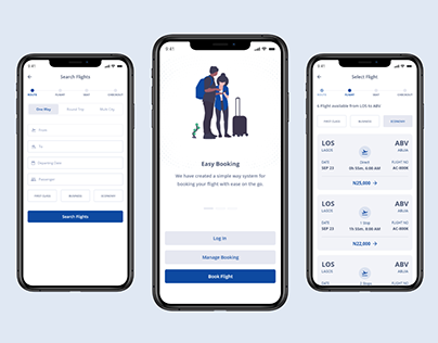 Flight Booking App (Mobile)