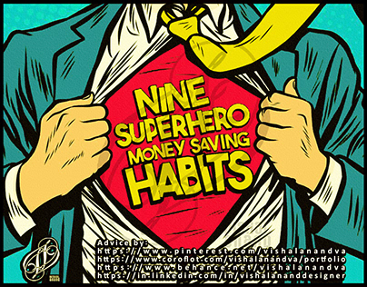 NINE SUPERHERO MONEY SAVING HABITS