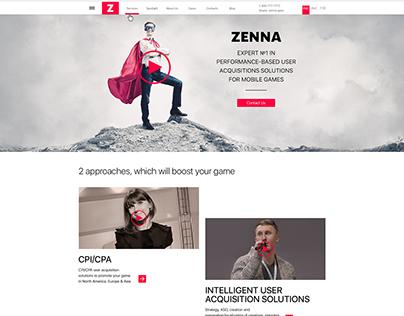 Website ZENNA
