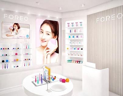 FOREO store in Taikoo Li, Chengdu