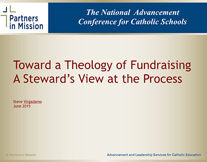 Toward a Theory of Fundraising A Steward's View