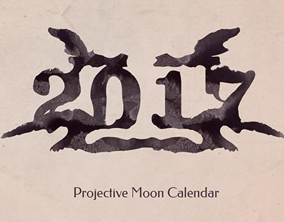 The Projective Moon Calendar