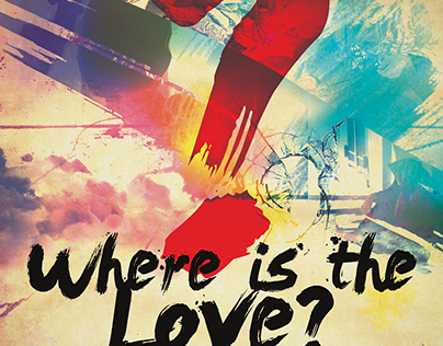 2 in 1 Church Flyer: Where Is the Love and Hosanna