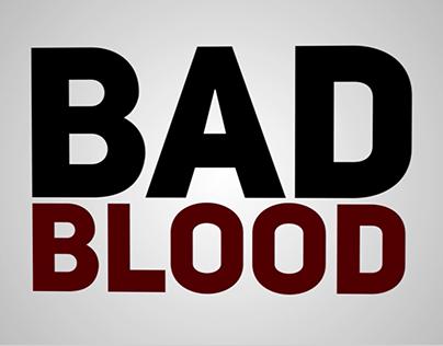 Bad Blood Kinetic Typography