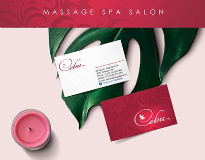 CEBU massage spa salon Branding