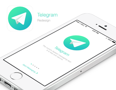 Telegram Messaging App Redesign