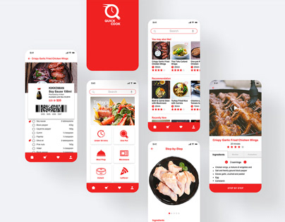 QUICK COOK Mobile App