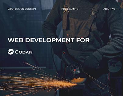 Web Development for Codan
