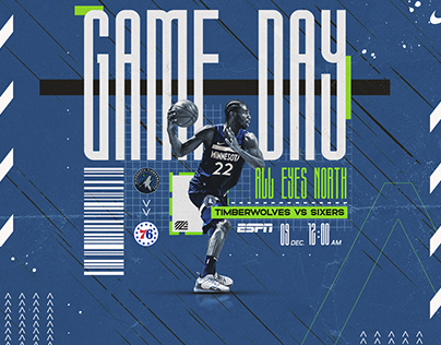 Game Day Concepts for the Timberwolves!