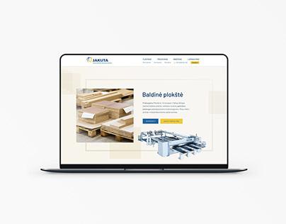 Landing Page for Furniture Manufacturer