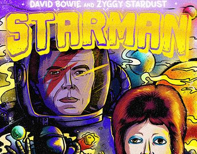Starman - David Bowie and Ziggy Stardust