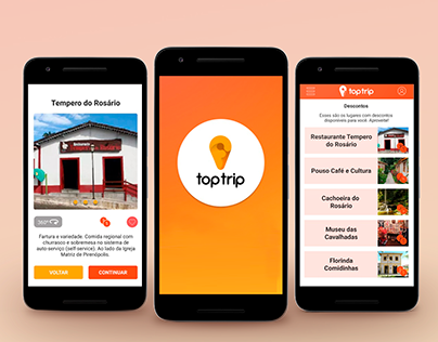 Vídeo Aplicativo Toptrip