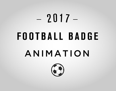 New Football Club Badge Animation.