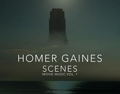 """""""Scenes"""" digital album cover"""