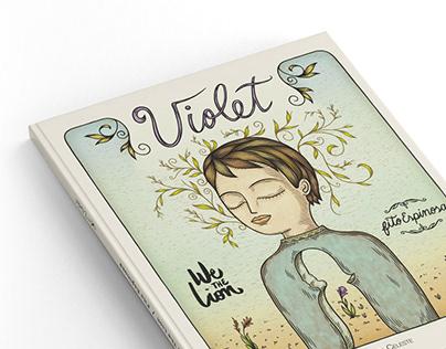 "Libro/disco ""Violet"", Fito Espinosa + We the Lion"
