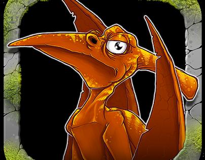 DINO COPTER - mobile game