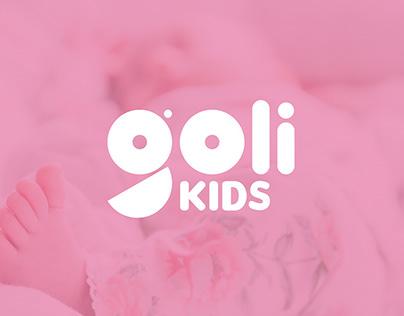 GOLI KIDS-Manual de identidad-Ropa infantil.