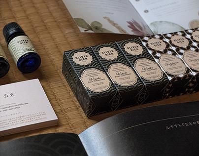 Oliver Rich Japan series branding