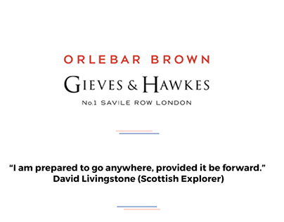 Orlebar Brown x Gieves & Hawkes - Press & Digital