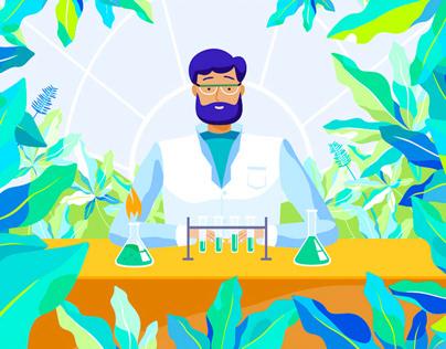 Explainer Video for Hillhit Lab