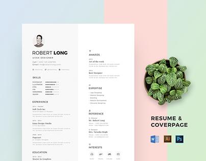 Resume / CV Creative, Modern & Clean Resume