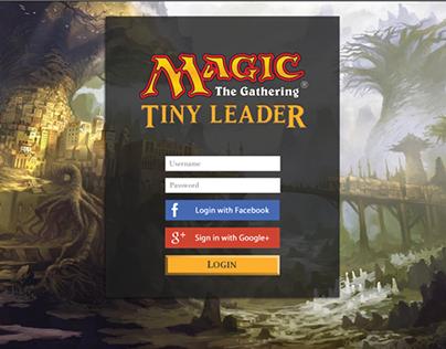 Magic The Gathering Interface Design