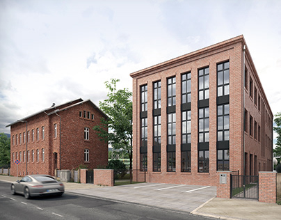 Industrial Building in Berlin