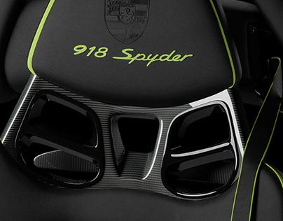 Porsche Spyder 918 Seat CGI