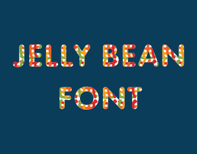 Jelly Bean Font