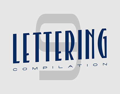 Lettering compilation #9