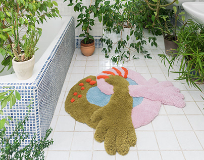 Handtufted woolen rugs, Chopit collection