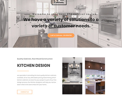 Dream Kitchen and Baths Landing Page Project