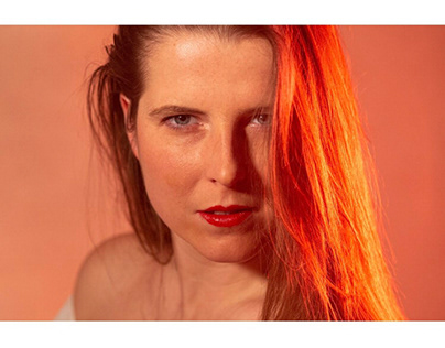 Portraits in red light