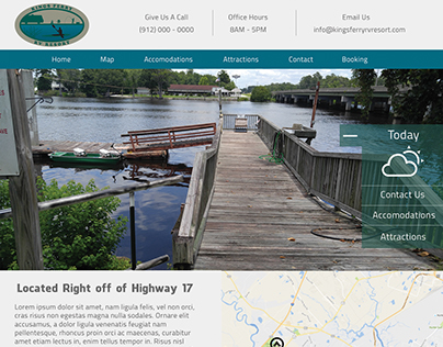 Web Design - Kings Ferry RV Resort