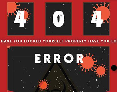 Error Screen Design