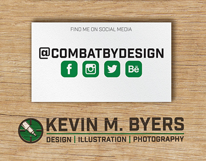 Kevin Byers Stationery Package - 2017 Update