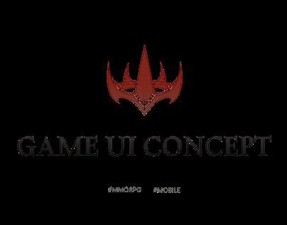 Game UI Concept