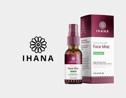 Ihana Organic Cosmetics - Packaging & Branding