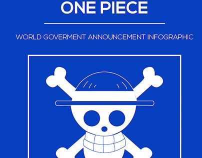 One Piece: Straw Hat Pirates Vector Infographic