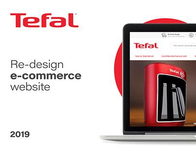 Tefal e-commerce web